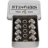 Yellow Jacket Premium Skateboard Bearings, Pro Longboard Bearings, 608, ABEC 11,...