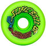 Santa Cruz Slime Ball Vomits Old School Re Issue 60mm 97a Skateboard Wheels (Neon Green)