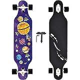 NOBONDO 41 Inch Longboard Skateboard - Canadian Maple Complete Long Board...