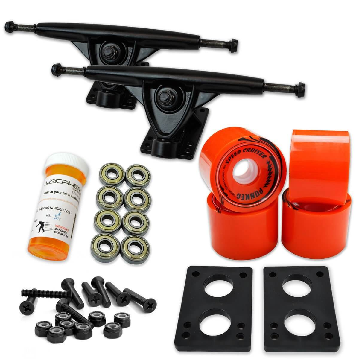 the best combo Yocaher Longboard trcuks set