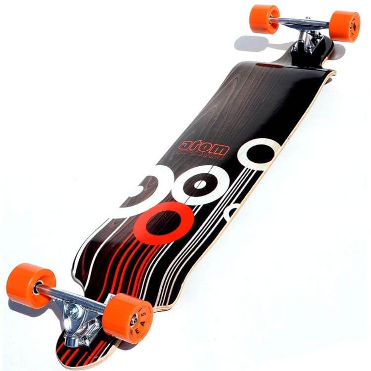 Atom Drop Deck longboard best for downhill carving