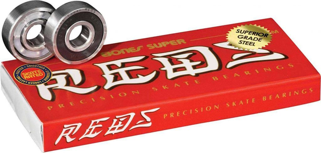 The high quality Bones Super Reds Bearings