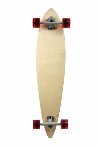 Stained Assembled Complete Longboard for beginners