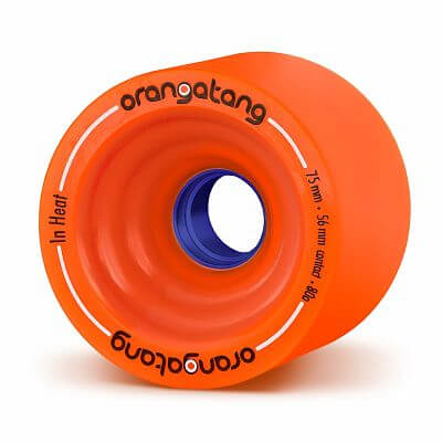 Orangatang in Heat Cruising Wheels