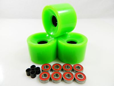 Big Boy Wheels with ABEC 7 Bearings Spacers