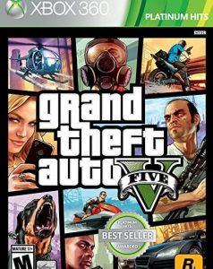 grand theft auto xbox 360 game