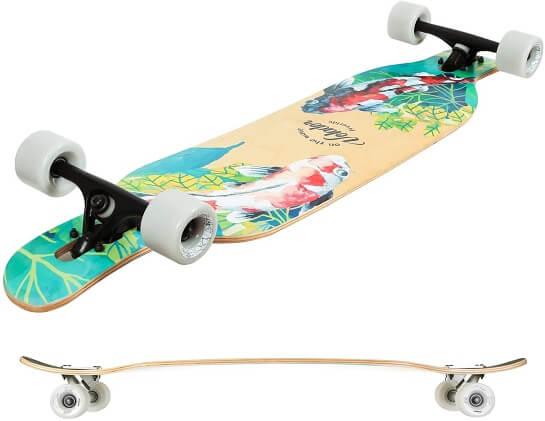 volador freeride longboard deck