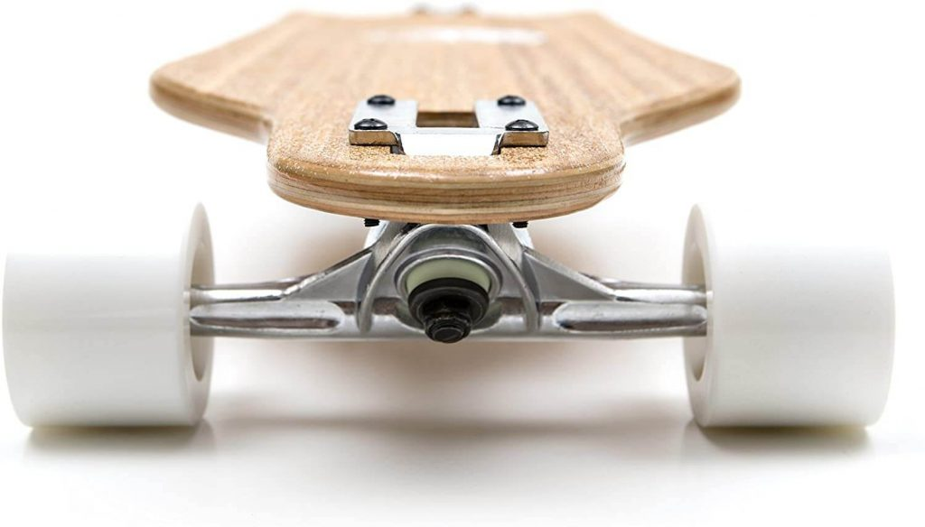 white wave bamboo longboard wheels