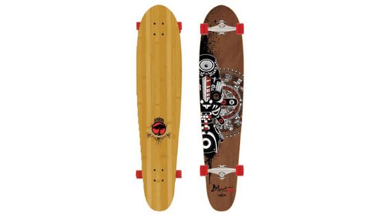 blunt longboard